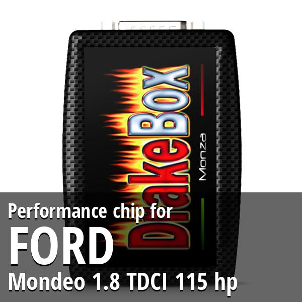 Performance chip Ford Mondeo 1.8 TDCI 115 hp
