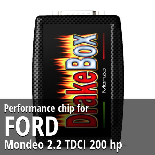 Performance chip Ford Mondeo 2.2 TDCI 200 hp