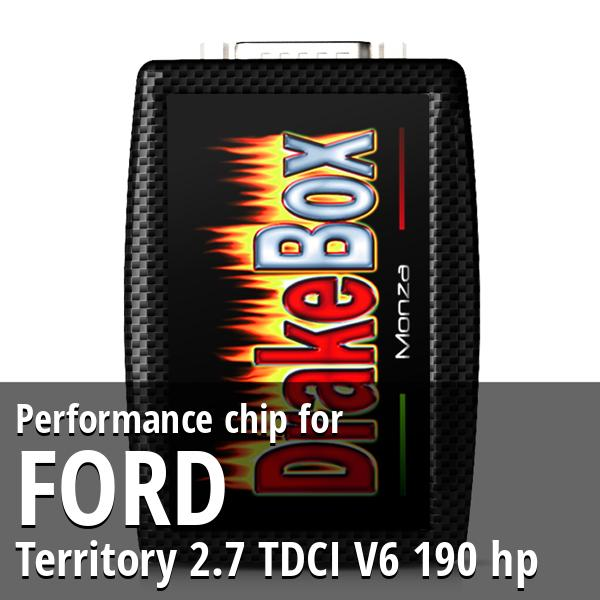 Performance chip Ford Territory 2.7 TDCI V6 190 hp