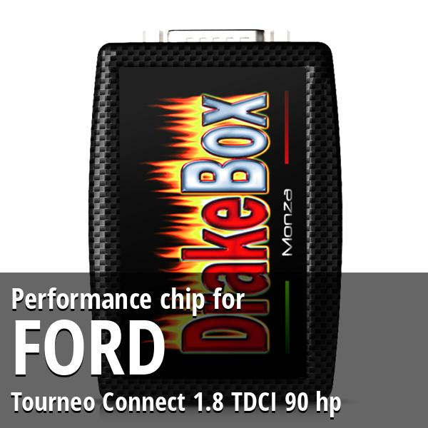 Performance chip Ford Tourneo Connect 1.8 TDCI 90 hp