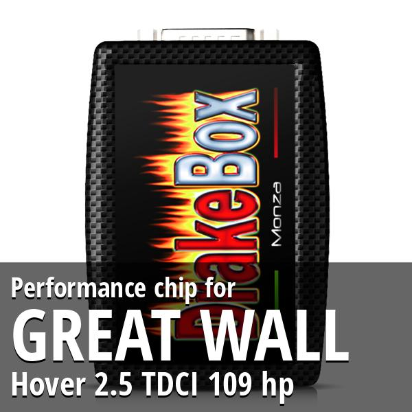Performance chip Great Wall Hover 2.5 TDCI 109 hp