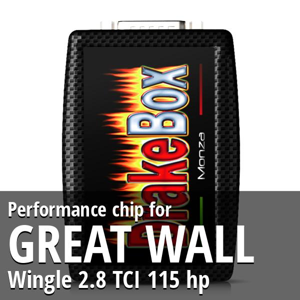 Performance chip Great Wall Wingle 2.8 TCI 115 hp