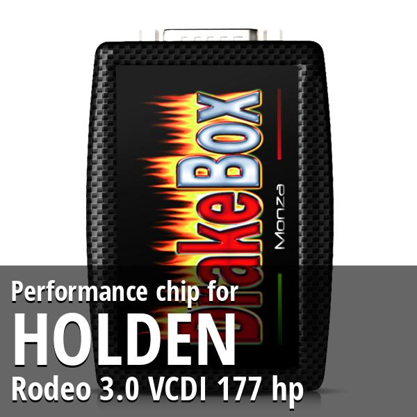 Performance chip Holden Rodeo 3.0 VCDI 177 hp