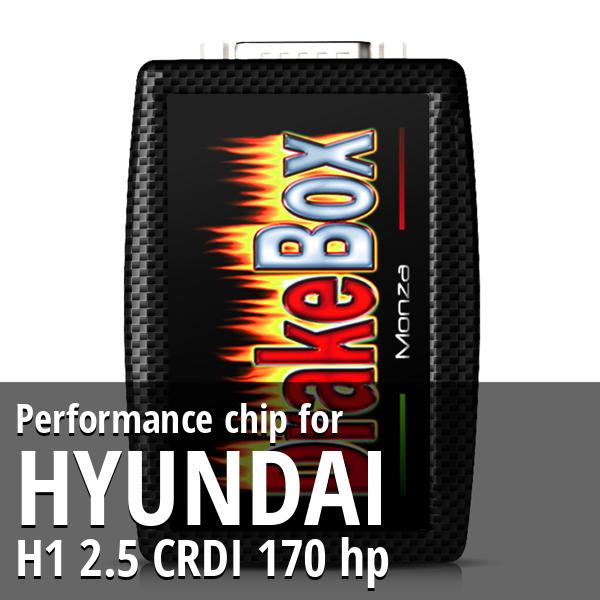 Performance chip Hyundai H1 2.5 CRDI 170 hp