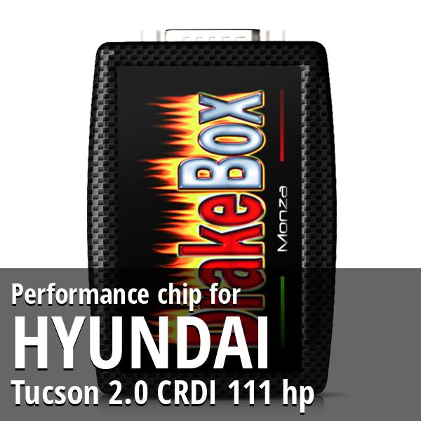 Performance chip Hyundai Tucson 2.0 CRDI 111 hp