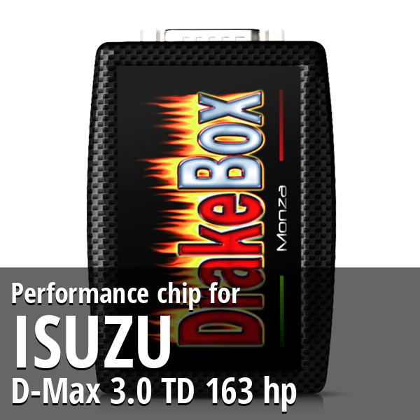 Performance chip Isuzu D-Max 3.0 TD 163 hp