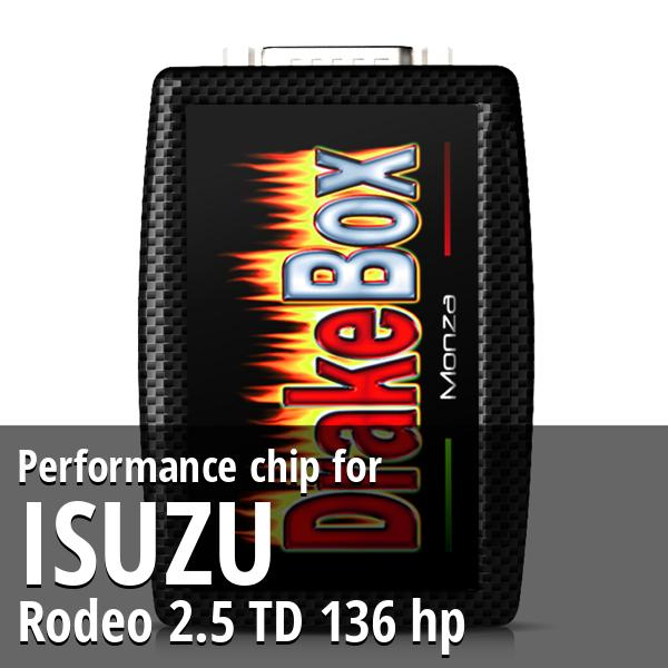 Performance chip Isuzu Rodeo 2.5 TD 136 hp