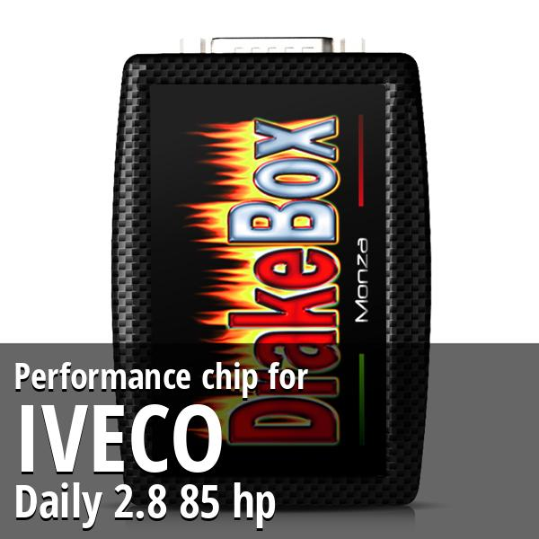 Performance chip Iveco Daily 2.8 85 hp