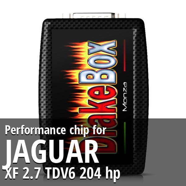 Performance chip Jaguar XF 2.7 TDV6 204 hp