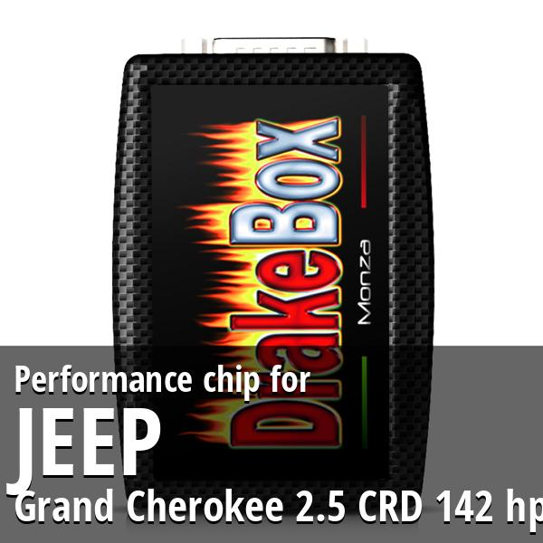 Performance chip Jeep Grand Cherokee 2.5 CRD 142 hp