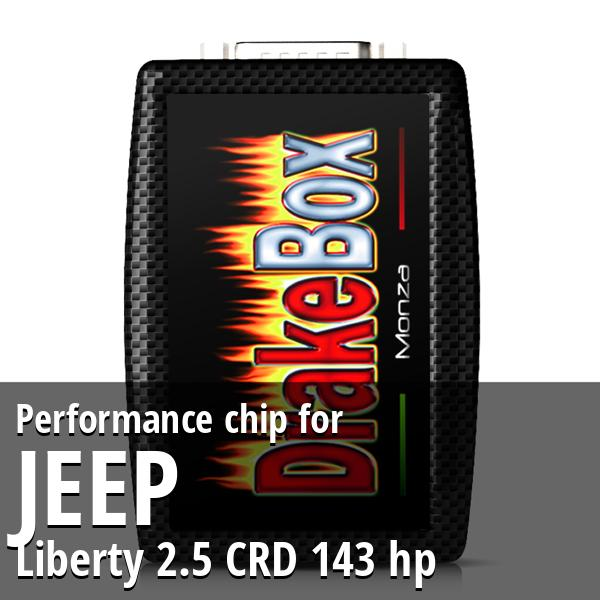 Performance chip Jeep Liberty 2.5 CRD 143 hp