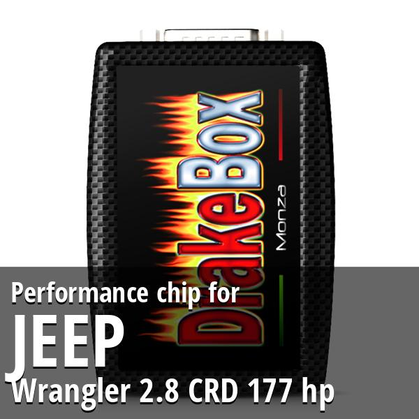 Performance chip Jeep Wrangler 2.8 CRD 177 hp