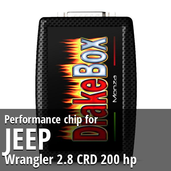 Performance chip Jeep Wrangler 2.8 CRD 200 hp