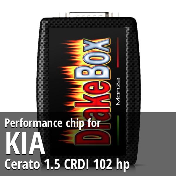 Performance chip Kia Cerato 1.5 CRDI 102 hp