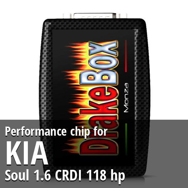 Performance chip Kia Soul 1.6 CRDI 118 hp