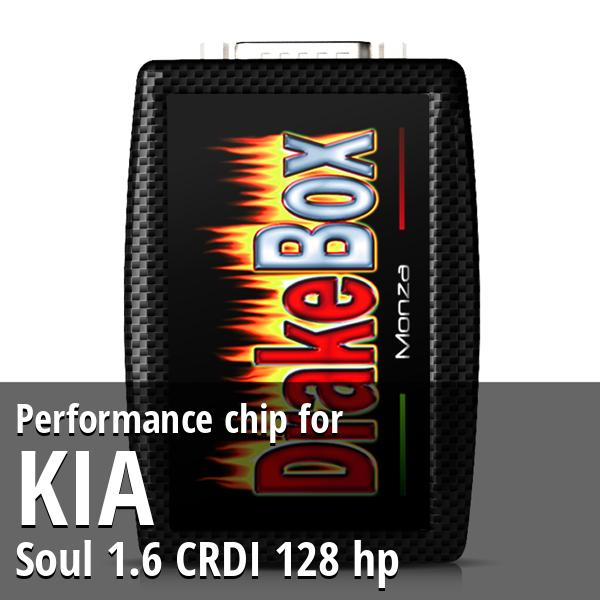 Performance chip Kia Soul 1.6 CRDI 128 hp