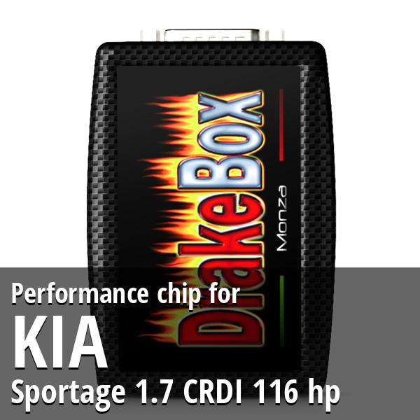 Performance chip Kia Sportage 1.7 CRDI 116 hp