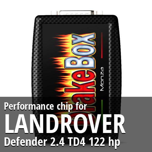 Performance chip Landrover Defender 2.4 TD4 122 hp