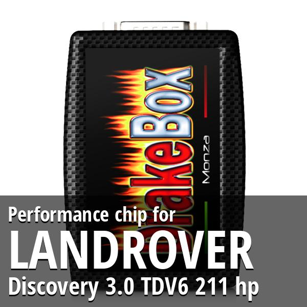 Performance chip Landrover Discovery 3.0 TDV6 211 hp