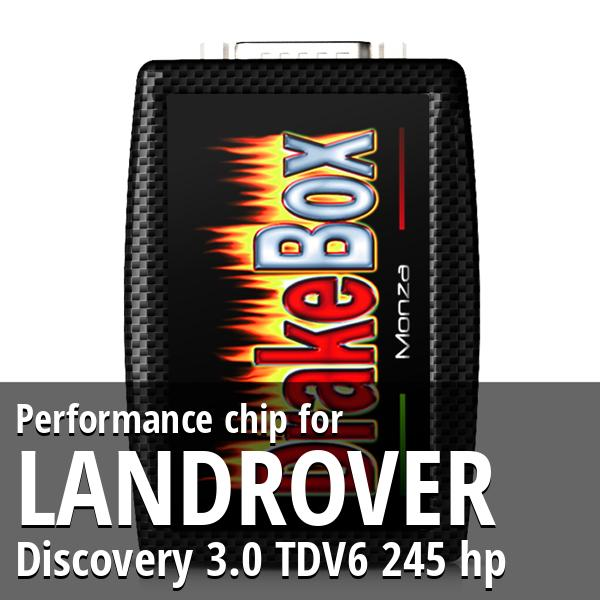 Performance chip Landrover Discovery 3.0 TDV6 245 hp