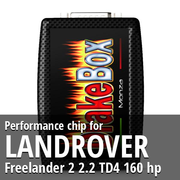 Performance chip Landrover Freelander 2 2.2 TD4 160 hp