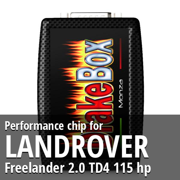 Performance chip Landrover Freelander 2.0 TD4 115 hp