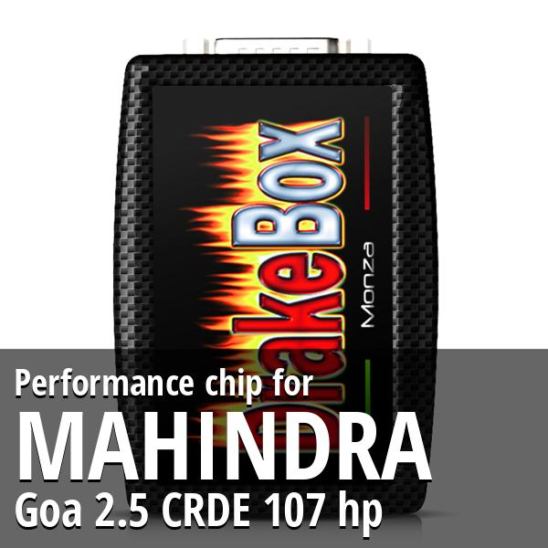 Performance chip Mahindra Goa 2.5 CRDE 107 hp