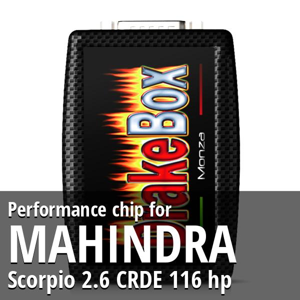 Performance chip Mahindra Scorpio 2.6 CRDE 116 hp