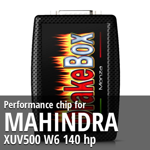 Performance chip Mahindra XUV500 W6 140 hp
