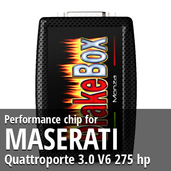 Performance chip Maserati Quattroporte 3.0 V6 275 hp