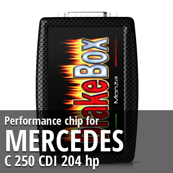 Performance chip Mercedes C 250 CDI 204 hp