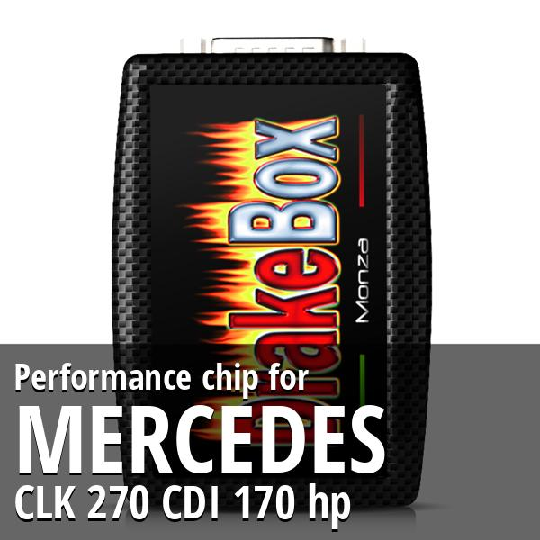 Performance chip Mercedes CLK 270 CDI 170 hp