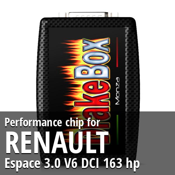 Performance chip Renault Espace 3.0 V6 DCI 163 hp