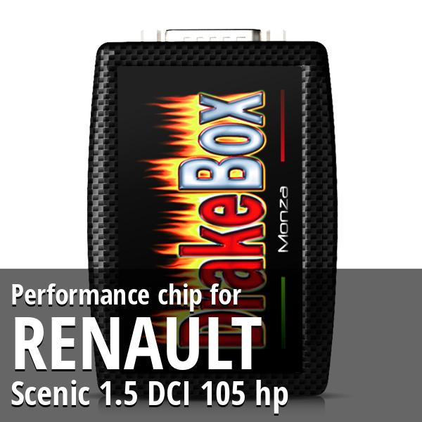 Performance chip Renault Scenic 1.5 DCI 105 hp