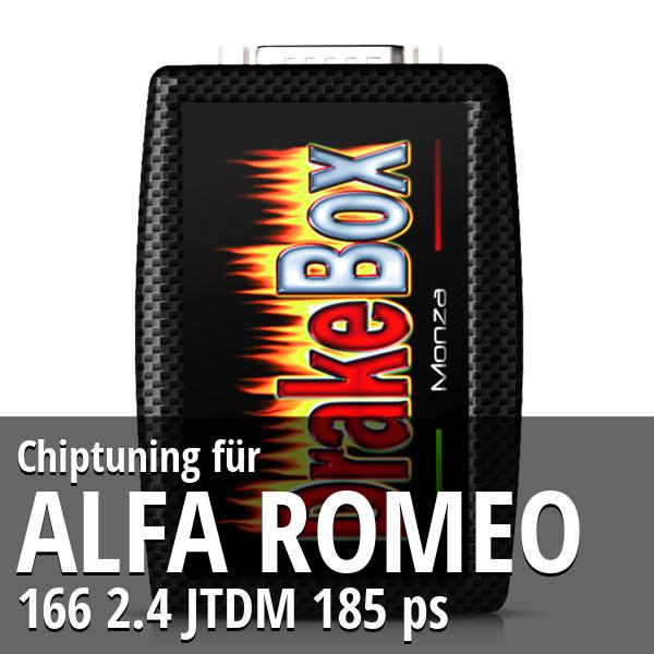 Chiptuning Alfa Romeo 166 2.4 JTDM 185 ps