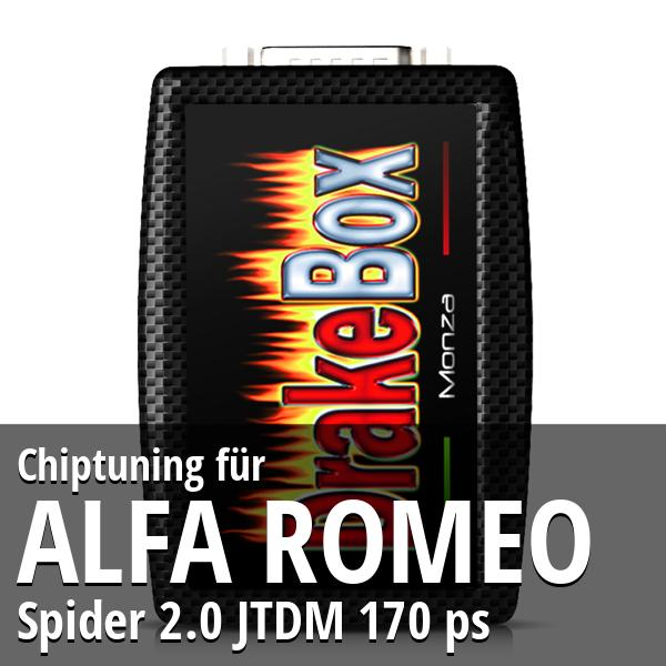 Chiptuning Alfa Romeo Spider 2.0 JTDM 170 ps