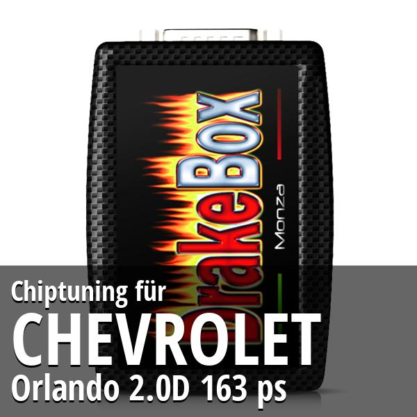 Chiptuning Chevrolet Orlando 2.0D 163 ps