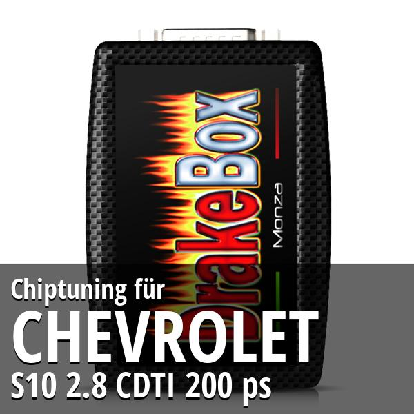 Chiptuning Chevrolet S10 2.8 CDTI 200 ps