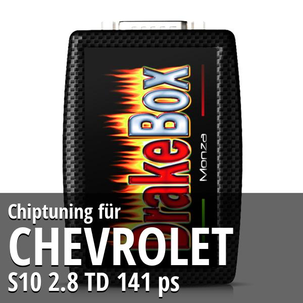 Chiptuning Chevrolet S10 2.8 TD 141 ps