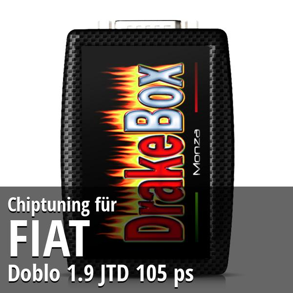 Chiptuning Fiat Doblo 1.9 JTD 105 ps