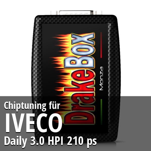 Chiptuning Iveco Daily 3.0 HPI 210 ps