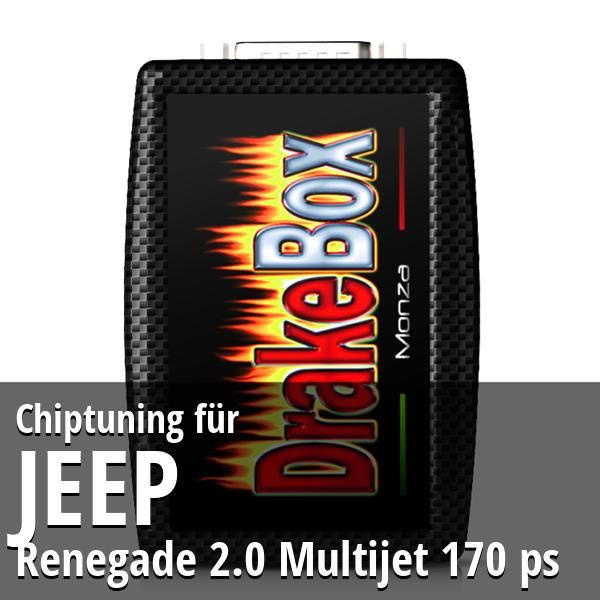 Chiptuning Jeep Renegade 2.0 Multijet 170 ps