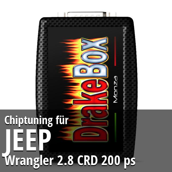 Chiptuning Jeep Wrangler 2.8 CRD 200 ps