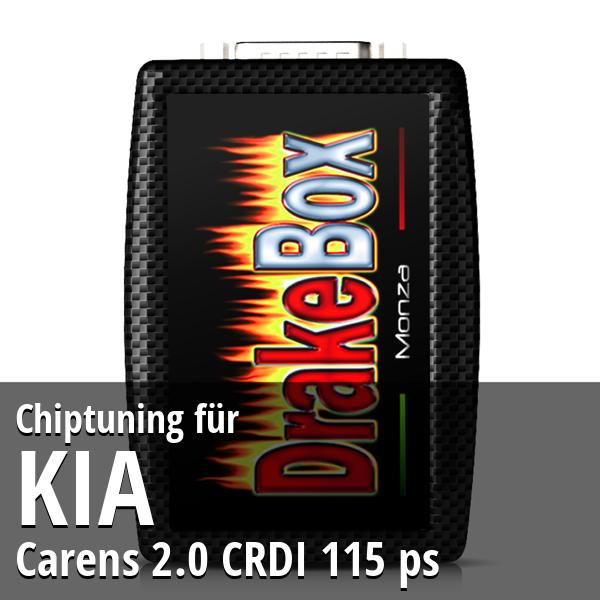 Chiptuning Kia Carens 2.0 CRDI 115 ps