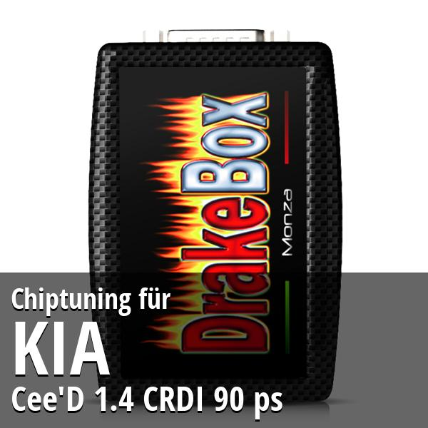 Chiptuning Kia Cee'D 1.4 CRDI 90 ps