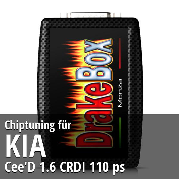 Chiptuning Kia Cee'D 1.6 CRDI 110 ps