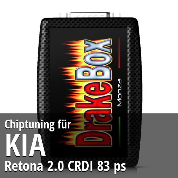 Chiptuning Kia Retona 2.0 CRDI 83 ps