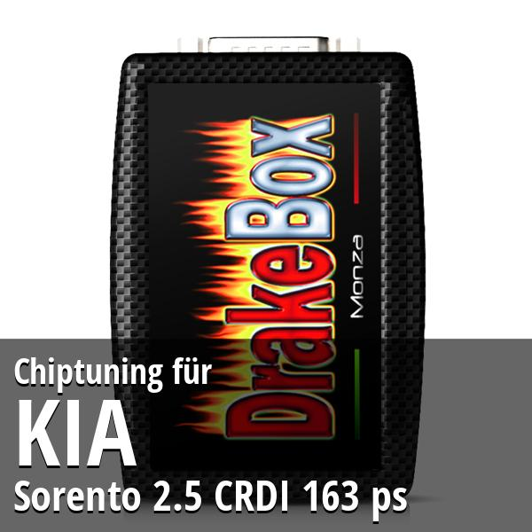 Chiptuning Kia Sorento 2.5 CRDI 163 ps