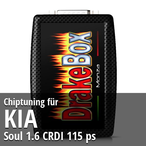 Chiptuning Kia Soul 1.6 CRDI 115 ps