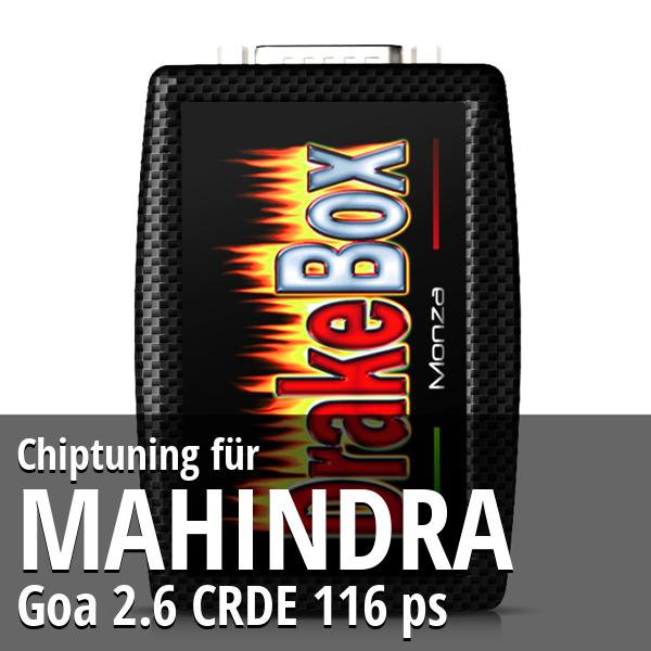 Chiptuning Mahindra Goa 2.6 CRDE 116 ps
